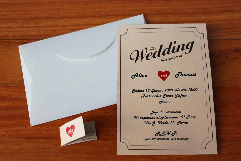 il galateo della partecipazione di nozze prima delle